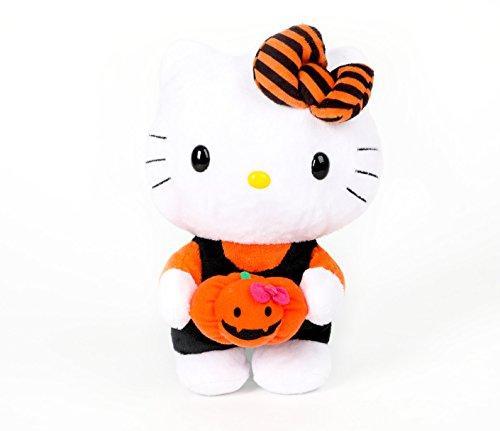 Hello Kitty Reversible Halloween Plush: (Hello Kitty Halloween Pumpkin)