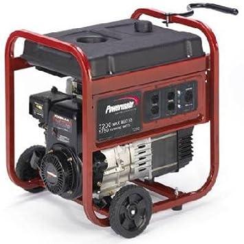 Amazon com : Coleman Powermate #PM0525750 11HP 5750W Generator