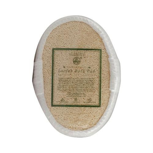 Earth Therapeutics, Oval Terry Puff Loofah Pad