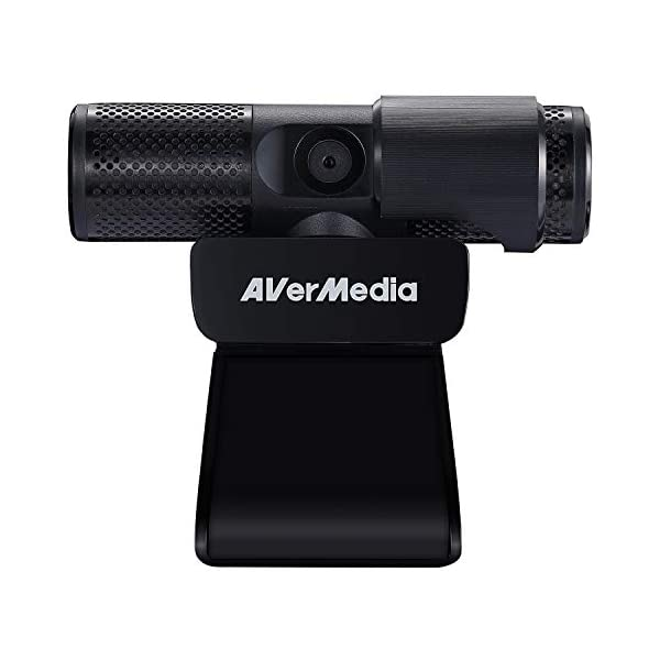 AVerMedia Live Streamer CAM 313 Full HD 1080P Streaming Webcam Privacy Shutter Dual Microphone 360 degree