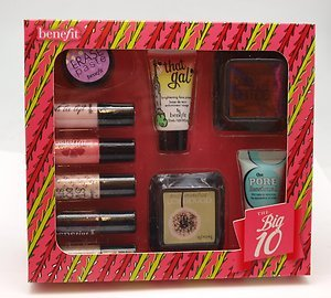Benefit The Big 10 cosmetic christmas gift set #comes with 2 FREE ...