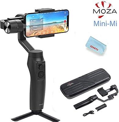 Moza Mini-MI 3-Axis Smartphone Stabilizer for Wireless Charging ...