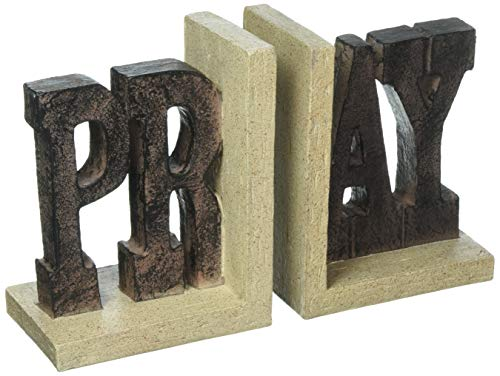 Pray Bookends -