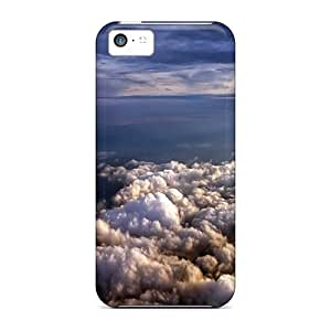 Hot Snap-on Landscape Of Clouds Hard Cover Case/ Protective Case For Iphone 5c