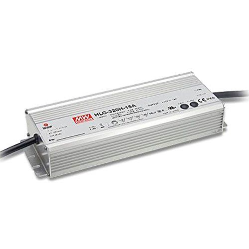 MEAN WELL HLG-320H-24A 24V 13.34 Amp 320W Switching LED Power Supply - by MEAN WELL
