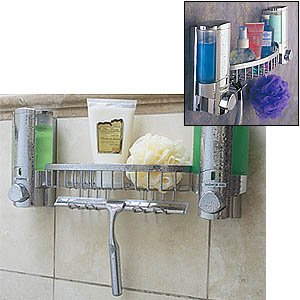 Dispensers Shower Basket Squeegee Chrome product image