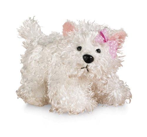 (Ganz Lil'Kinz Terrier Plush, White, 6.5