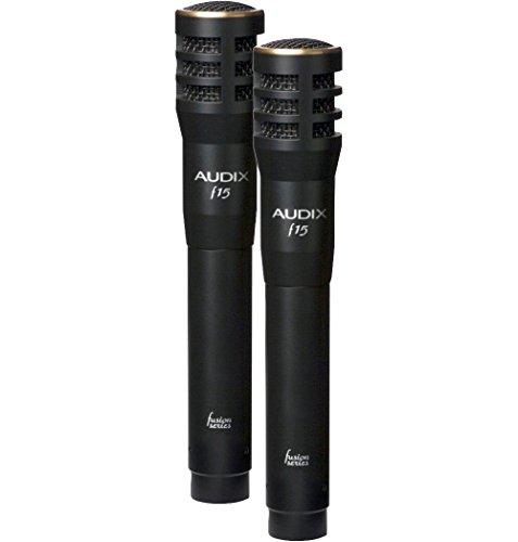 Audix Fusion F15 Cymbal Condenser Mic 2 Pack (Hat Mic Hi)