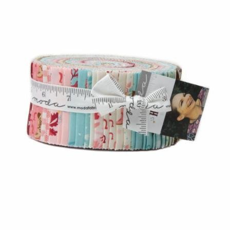 Howdy Jelly Roll By Stacy Iset Hsu, Set of 40 2.5 x 44-inch Precut Cotton Fabric Strips ()