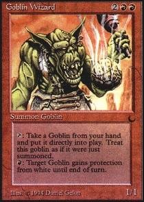 Magic: the Gathering - Goblin Wizard - The Dark by Magic: the ...