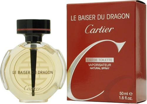 Le Baiser Du Dragon By Cartier For Women. Eau De Toilette Spray 1.6 Ounces