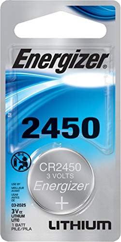 Energizer 3v Lithium Battery 2450 (Value Pack of four)