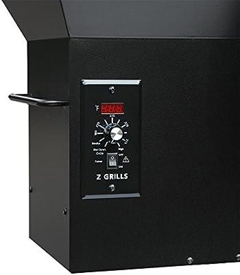 Z‿GRILLS ZPG 450A Grille à granulés de Bois et fumoir