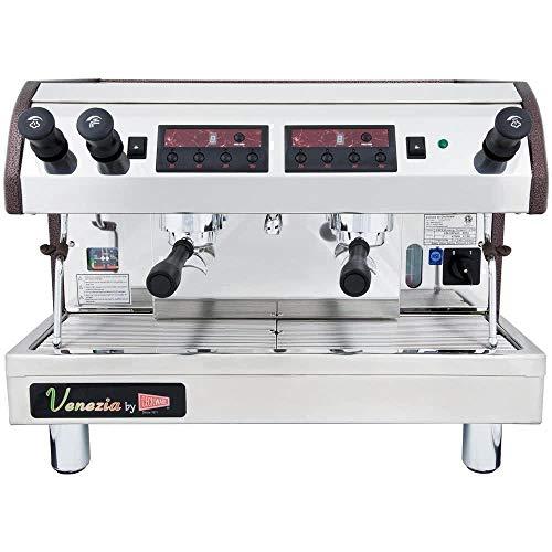 Cecilware Venezia Espresso Machine - Cecilware ESP2 Venezia II 2 Group Commercial Coffee Espresso Machine 240V