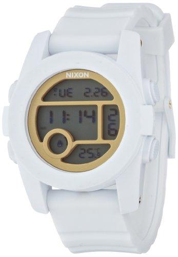 [ニクソン]NIXON UNIT 40: ALL WHITE/GOLD NA4901035-00 レディース