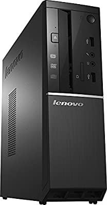 2017 Lenovo Slimline 300s High Performance Desktop PC, Intel Core i5-4460 Quad-Core 3.2GHz, 8GB RAM, 1TB 7200RPM HDD, DVD+/-RW, HDMI, WIFI, Bluetooth, VGA, Windows 10, Black