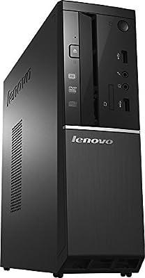 2017 Lenovo Slimline 300s High Performance Desktop PC, Intel Core i5-4460 Quad-Core 3.2GHz, 8GB RAM, 1TB 7200RPM HDD, DVD+/-RW, HDMI, WIFI, Bluetooth, VGA, Windows 10, Black from Lenovo