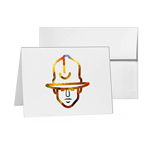 Pharrell Williams Vivienne Westwood Style, Blank Card Invitation Pack, 15 cards at 4x6, Blank with White Envelopes Style - Pharrell Style