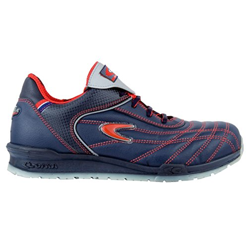 Cofra Plumb S1P SRC par de zapatos de seguridad talla 45AZUL