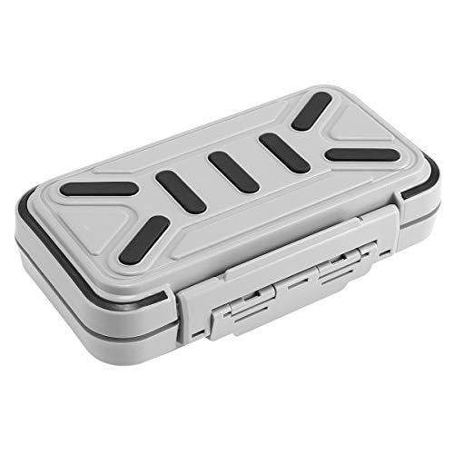 KOBWA caja de señuelo de pesca, caja de aparejos de pesca, caja de cebos de gancho, portátil, impermeable, gran capacidad,...