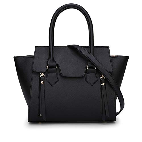 Tzq Tracolla Con Spalla Pelle Da Designer Borse Black Donna Italiano In Borsa xzrxtv7qw