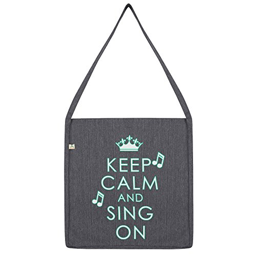 Calm Tote Bag Envy Twisted And Keep Dark On Sing Grey 1qxAxHUnF