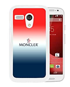 Moto G With Moncler 10 White Phone Case: Cell Phones & Accessories