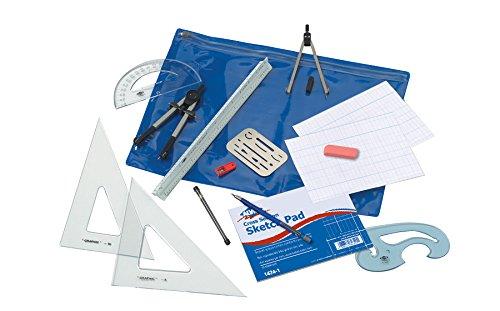 Alvin, BDK-1MD, Beginner's Drafting Kit - 14 Piece Set
