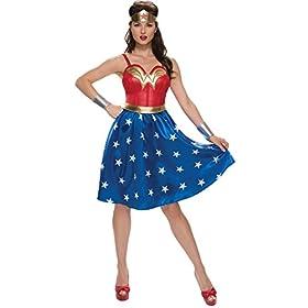 - 41CAJsO0BzL - Rubie's Costume Co. Women's Wonder Woman Costume