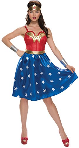 Marvel Heroes And Villains Costumes - Rubie's Women's Wonder Woman Costume, As