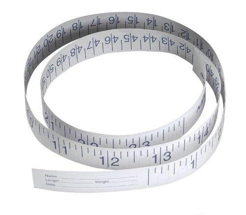 Medline NON171335Papel Cinta métrica, 91,4cm (Pack de 1000)
