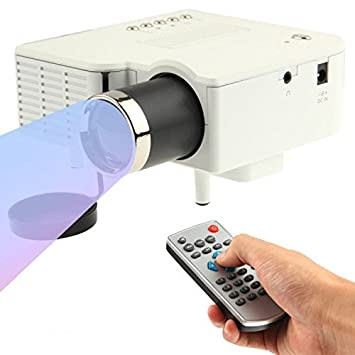 A30 Mini laser proyector LED Cinema cine en casa HD 1080P USB SD ...