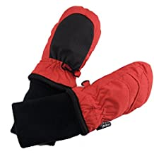 SnowStoppers Kid's Waterproof Stay On Winter Nylon Mittens Extra Small - No Thumbs