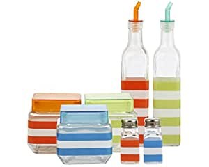 7 Piece Canister and Condiment Set