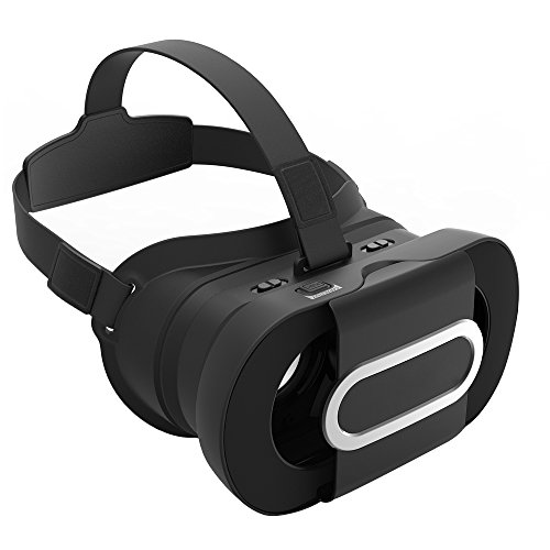 3D VR Glasses, Segawoot Virtual Reality Headset Adjust VR Box for 3D Movies Video Games Compatible with iPhone 6s 7 Samsung Galaxy Note and other 4.7''-6.0'' Smart Phones