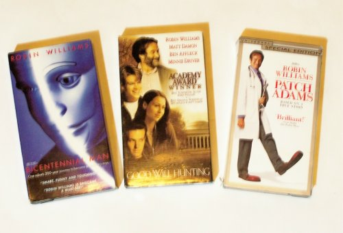Robin Williams Video Collection 3-pk: Patch Adams, Good Will Hunting, Bicentennial Man