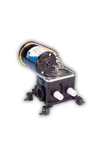 Jabsco 36680-2000 Marine PAR Belt Drive Bilge Pump (330-GPH, 12-Volt, 10-Amp, 3/4
