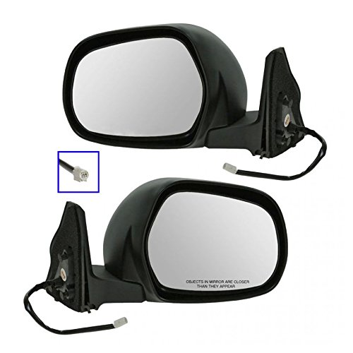 (Power Side View Mirrors Left & Right Pair Set for 03-09 Toyota 4Runner)