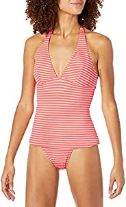 Amazon Essentials Women's Tankini Swimsuit