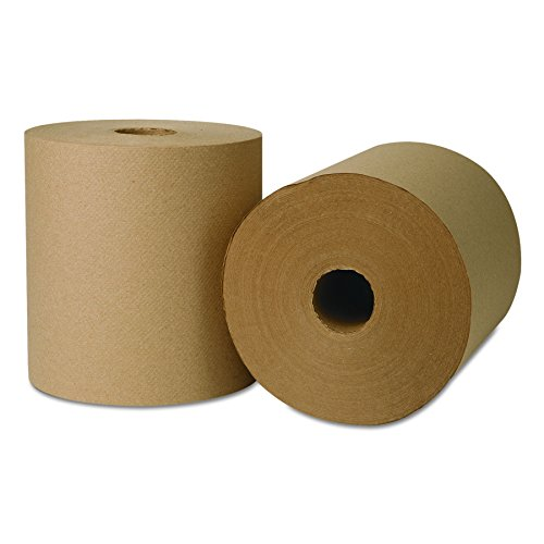 WAUSAU PAPERS WAU 45800 EcoSoft Universal Roll Towels, 800' x 8