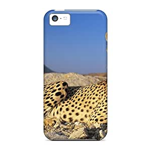 Tpu Case For Iphone 5c With A Resting Cheetah