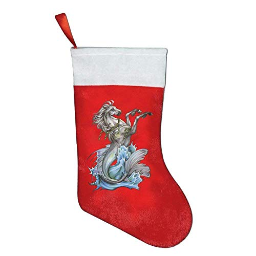 KMAND Christmas Stockings Cool Horse Animals Christmas Holiday Stockings by KMAND