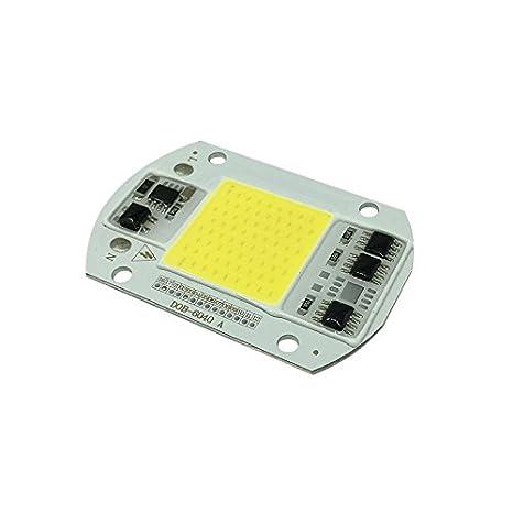 Cutowin - Luz LED COB 30/50 W 220 V para bricolaje con chip de ahorro de energí a Cutogain 1nn3xe6pn6ks5uu8D03