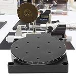 R Trimming Platform Manual,φ90mm Trimming Station Manual Displacement Platform,Micrometer Linear Stage Tuning Sliding…