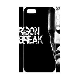 HOPPYS Prison Break Phone 3D Case For iPhone 5,5S [Pattern-4]