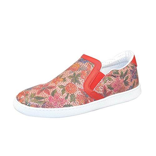 Piquet91 Rouge Mecap pour Sneakers Femme et Homme f FwwOH5q0