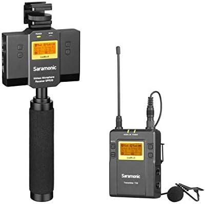Saramonic UwMic9 TX9+SPRX9 - Micrófono inalámbrico UHF para ...
