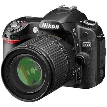Amazon.com : Nikon D80 10.2MP Digital SLR Camera Kit with 18-135mm ...