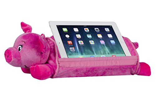 LapGear Lap Pets Tablet Pillow/Tablet Stand - Pig (Fits up to 10.1