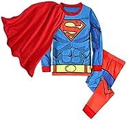 SgaSong Spiderman Pajamas,Super Hero Cotton Kids Toddler Cartoon PJs Sleepwear